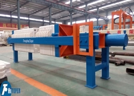 Manual Cake Discharge Chamber Filter Press 10m2 For Mineral Processing Industry