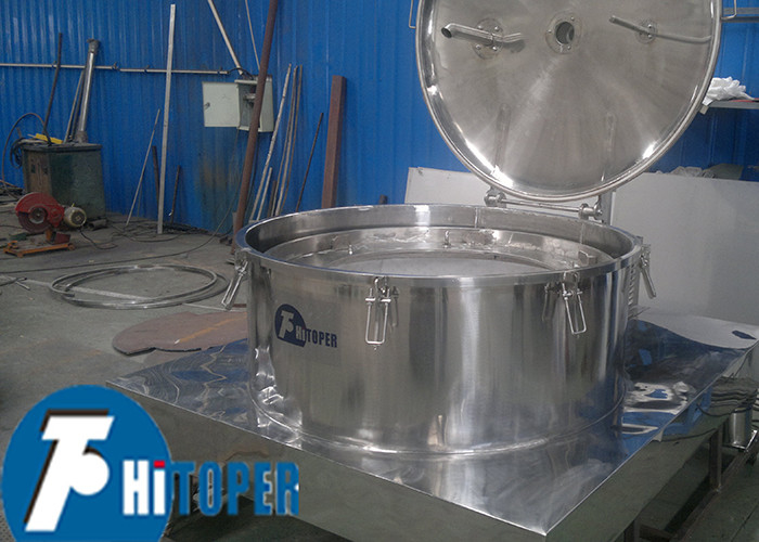 Chemical Water Treatment Platform Base Centrifuge With Cleaner - Upper Unloading Bags