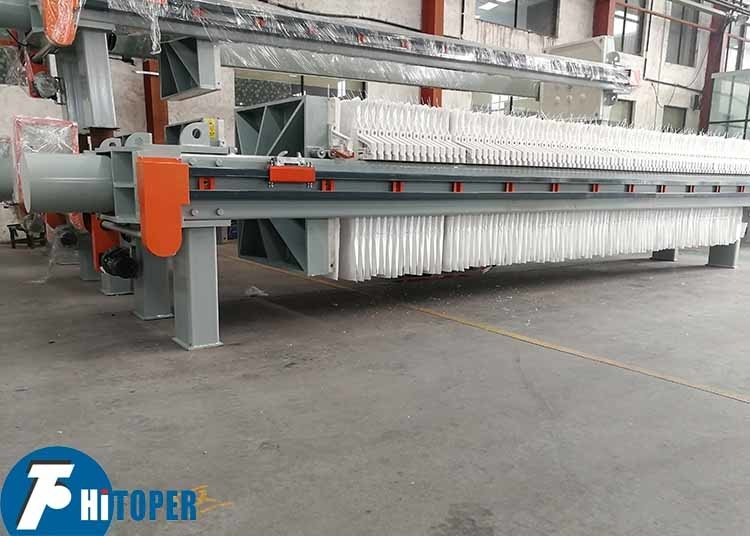 Textile Industry Chamber Filter Press For Wastewater Treatment heavy duty
