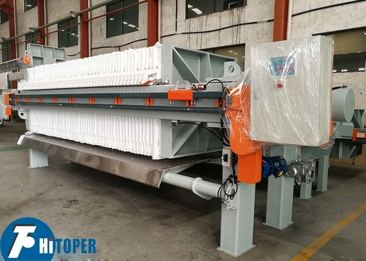 High Efficiency Industrial Filter Press Solid And Liquid Dewatering Ce Certificate