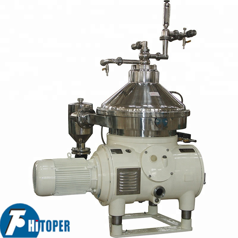 Plc Control Disk Bowl Centrifuge Full Automatic Feeding And Discharging